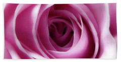 Soft Pink Rose 4 Beach Towel