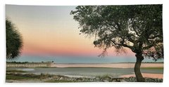 Soft Sunset Beach Towel