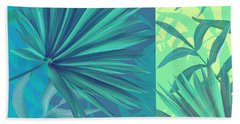 Soft Tropic  Beach Towel