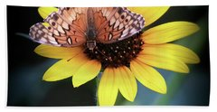 Beach Towel featuring the photograph Softness In Nature by Elaine Malott