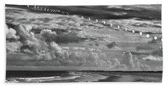 Solar Eclipse 2017 Beach Sheet