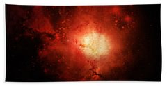 Beach Towel featuring the photograph Solar Inferno by Cynthia Lassiter
