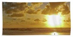Solar Moment Beach Towel