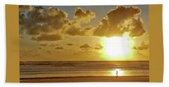 Solar Moment Beach Towel