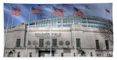 Soldier Field Beach Towel