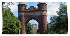 Soldiers And Sailors Memorial Arch Beach Towel by Catherine Gagne