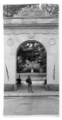 Soldiers Memorial Gate, Brown University, 1972 Beach Sheet