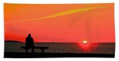 Solitude At Sunrise Beach Sheet