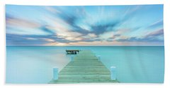 Beach Towel featuring the photograph Solitude by Evgeny Vasenev