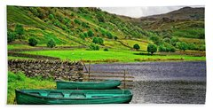 Solitude In The Lake District  Beach Towel