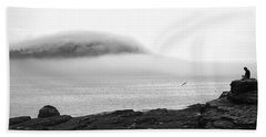 Solitude Beach Sheet by Living Color Photography Lorraine Lynch