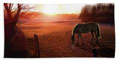 Solstice Sunrise Beach Towel