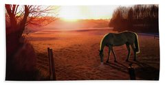 Solstice Sunrise Beach Towel
