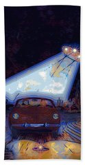 Some Enchanted Evening-retro Romance Beach Towel