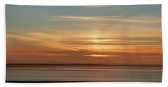 Somerset Sunset Beach Towel by Lynn Bolt