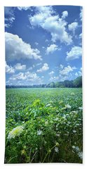Beach Towel featuring the photograph Something Good In This World by Phil Koch