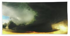 Something Wicked This Way Comes Beach Towel