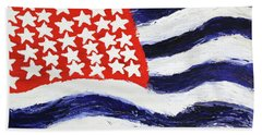 Something's Wrong With America Beach Towel