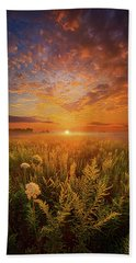 Sometimes Darkness Can Show You The Light Beach Towel