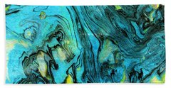 Somewhere New 6- Art By Linda Woods Beach Towel