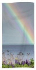 Somewhere Under The Rainbow Beach Towel