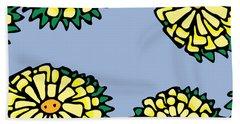 Sonchus In Color Beach Towel