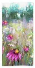 Song Of The Flowers Beach Towel