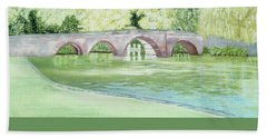 Sonning Bridge  Beach Towel