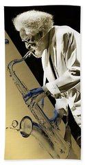 Sonny Rollins Collection Beach Towel by Marvin Blaine