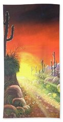 Sonora Sunrise Beach Towel