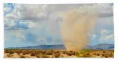 Sonoran Desert Dust Devil Beach Sheet