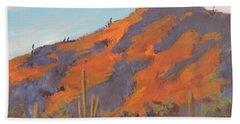 Sonoran Sunset - Art By Bill Tomsa Beach Towel
