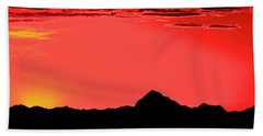 Sonoran Sunset  Beach Towel