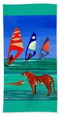 Tigers Sons Of The Sun Beach Towel