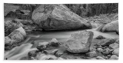 Soothing Colorado Monochrome Wilderness Beach Sheet by James BO Insogna