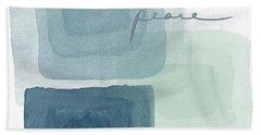 Soothing Peace- Art By Linda Woods Beach Towel