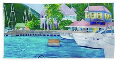 Sopers Hole Beach Towel