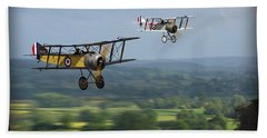 Sopwith Scout 2 Beach Towel by John Wills