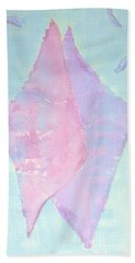 Beach Towel featuring the painting Soul Mates Meeting by Asha Carolyn Young