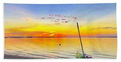 Souls Tended Beach Towel by Dee Dee Whittle