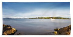 Sound Of Jura Scotland Beach Towel by Lynn Bolt