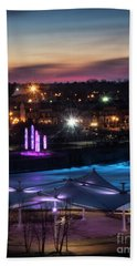 South Bend River Sunrise Beach Sheet by Brian Jones