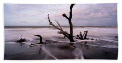 South Carolina Coastline Beach Towel