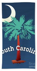 South Carolina Palmetto Beach Sheet