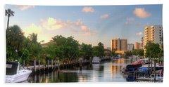 South Florida Canal Living Beach Sheet