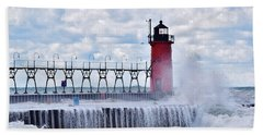 South Haven Lighthouse Beach Sheet