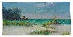 South Lido Morning By Alan Zawacki  Beach Sheet