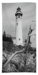 South Manitou Island Lighthouse  Beach Sheet