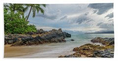 South Maui Secret Beach Beach Towel