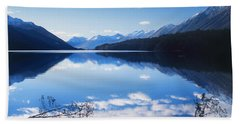 South Mavora Lake, New Zealand Beach Towel